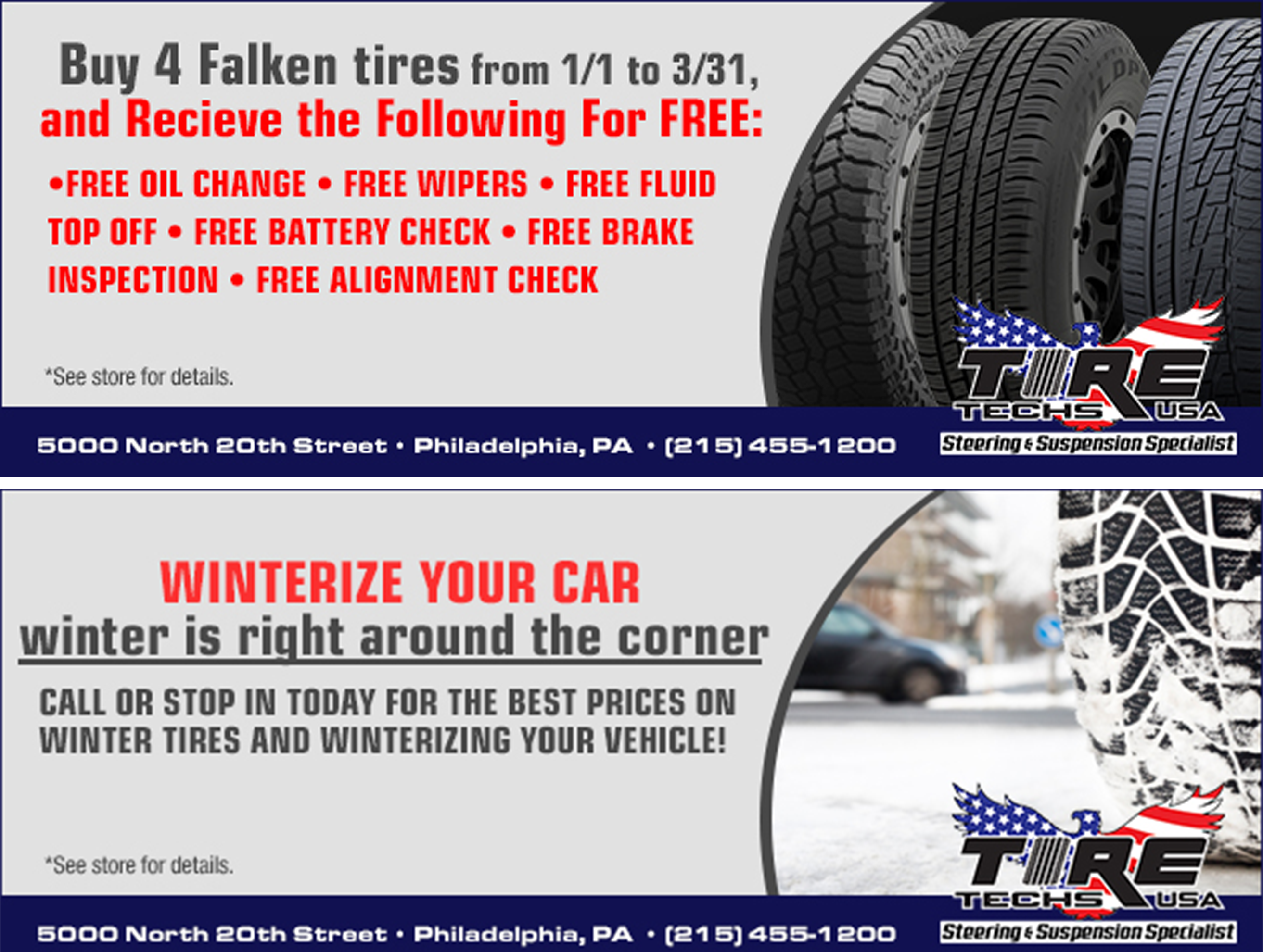 Tires Auto Repair In Philadelphia Pa Tire Techs Usa